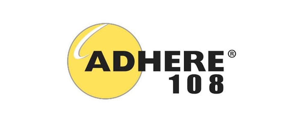 Adhere 108 Logo